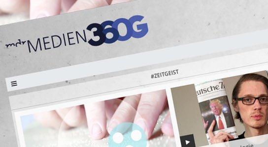 medien360g.de heißt das Medienkompetenz-Portal des MDR - Schulfuchs.de