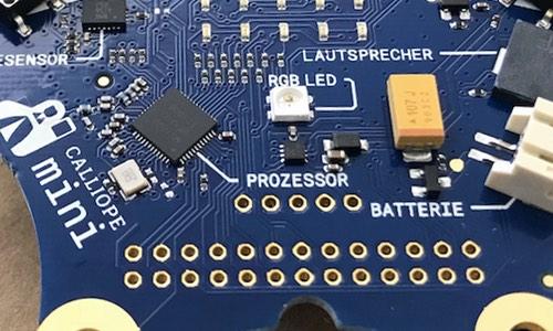 Mini-Computer Calliope an Thüringer Grundschulen ----- Der Calliope-Mini für die Grundschule.