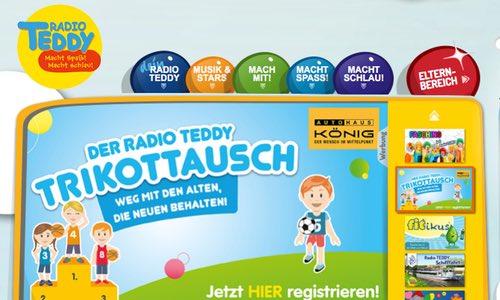 Radio TEDDY - Kinderradio aus Potsdam - Schulfuchs.de