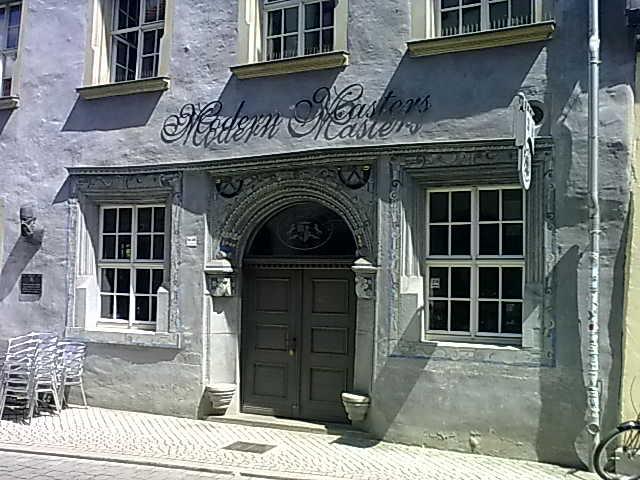 Erfurt, Michaelisstraße 48: Im diesem Haus wurde 1518 das älteste Rechenbuch (Rechnen auff der Linihen) von Adam Ries (1492 bis 1559) gedruckt. - Schulfuchs.de