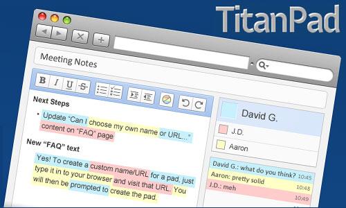 Mit TitanPad gemeinsam Texte schreiben und verbessern - Schulfuchs.de